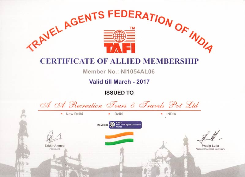Travel Agent Association of India (TAAI)